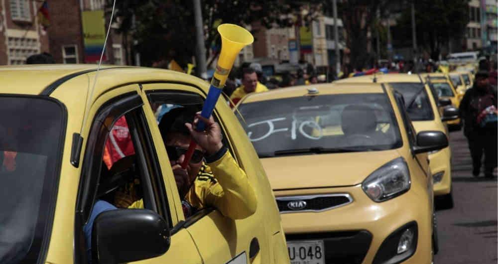 Taxistas de Bogotá anuncian nueva jornada de paro - La lupa de hoy
